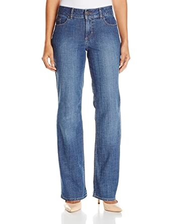 Lee mid rise bootcut jeans petite