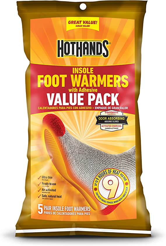 HotHands Toe 6 bags of 7 Foot Warmers Pack 42 Pairs Expires 07//2023