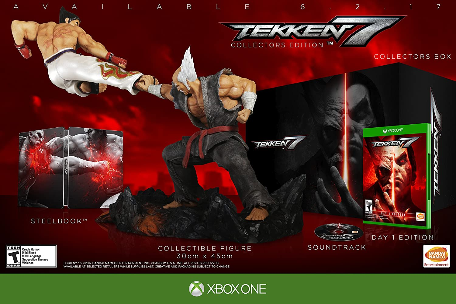 Amazon Com Tekken 7 Collector S Edition Xbox One Collector S