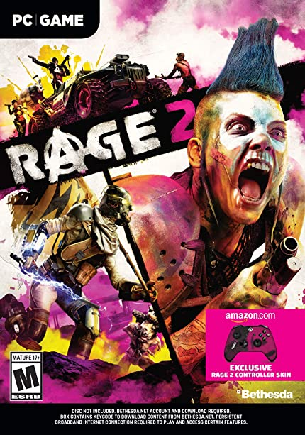 Amazon com: Rage 2 - PC Standard Edition [Amazon Exclusive Bonus