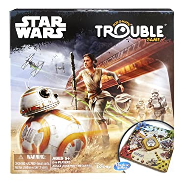 Hasbro Gaming Trouble Game: Star Wars Edition