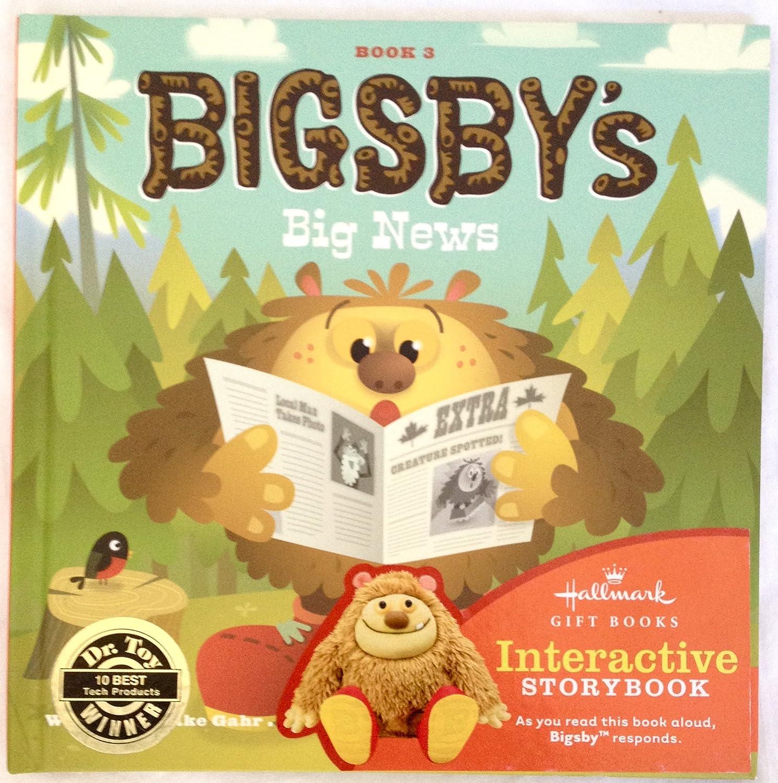 Hallmark Interactive Storybooks KOB8027 Bigsby's Big News ~ Book 3
