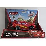 Disney Pixar Cars 2 - Pull Back Racer - Lightning McQueen