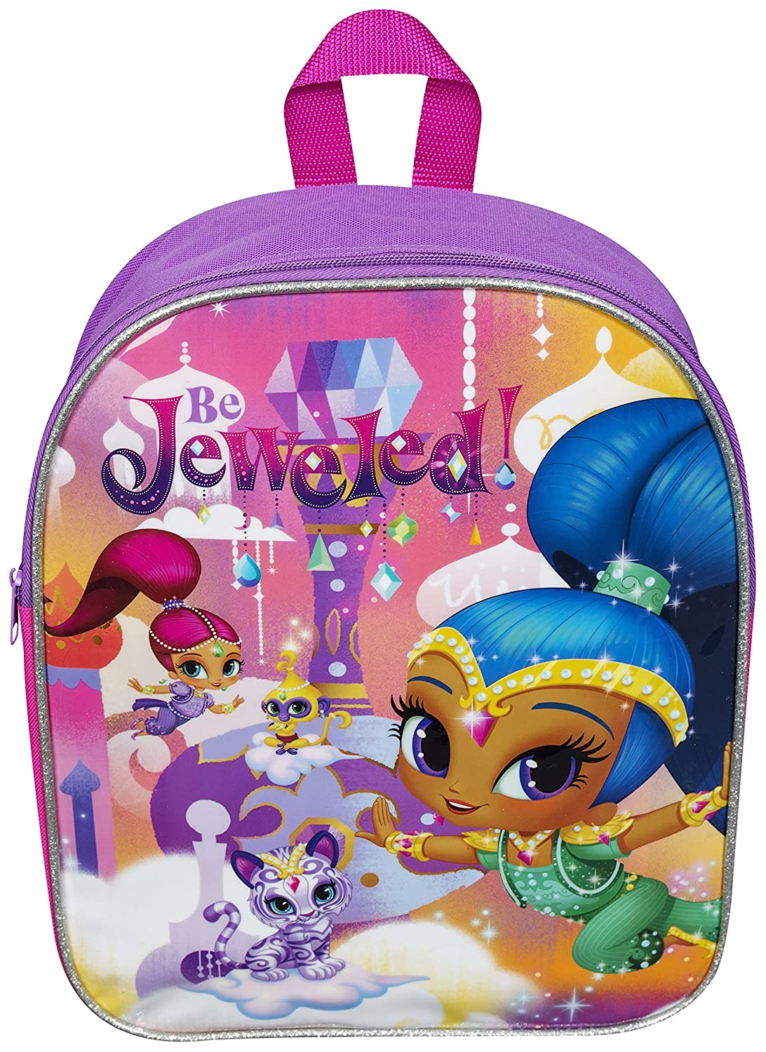 Children Kids Shimmer and Shine Purple Junior Backpack: Amazon.es: Bebé