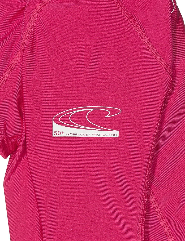 ONeill Wetsuits Girls Youth Basic Skins Short Sleeve Rash Guard Shirt