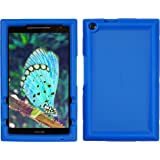 Bobj for ASUS ZenPad Z380, P022 (Z380C, Z380CX, Z380KL, Z380KNL, Z380M, P00A, P024) – BobjGear Protective Tablet Cover (Batfish Blue)