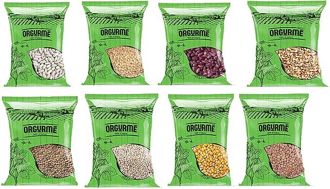 Orgurmé - Caja familiar de alubias mixtas, 400 g (pack de 8): Amazon.es: Alimentación y bebidas