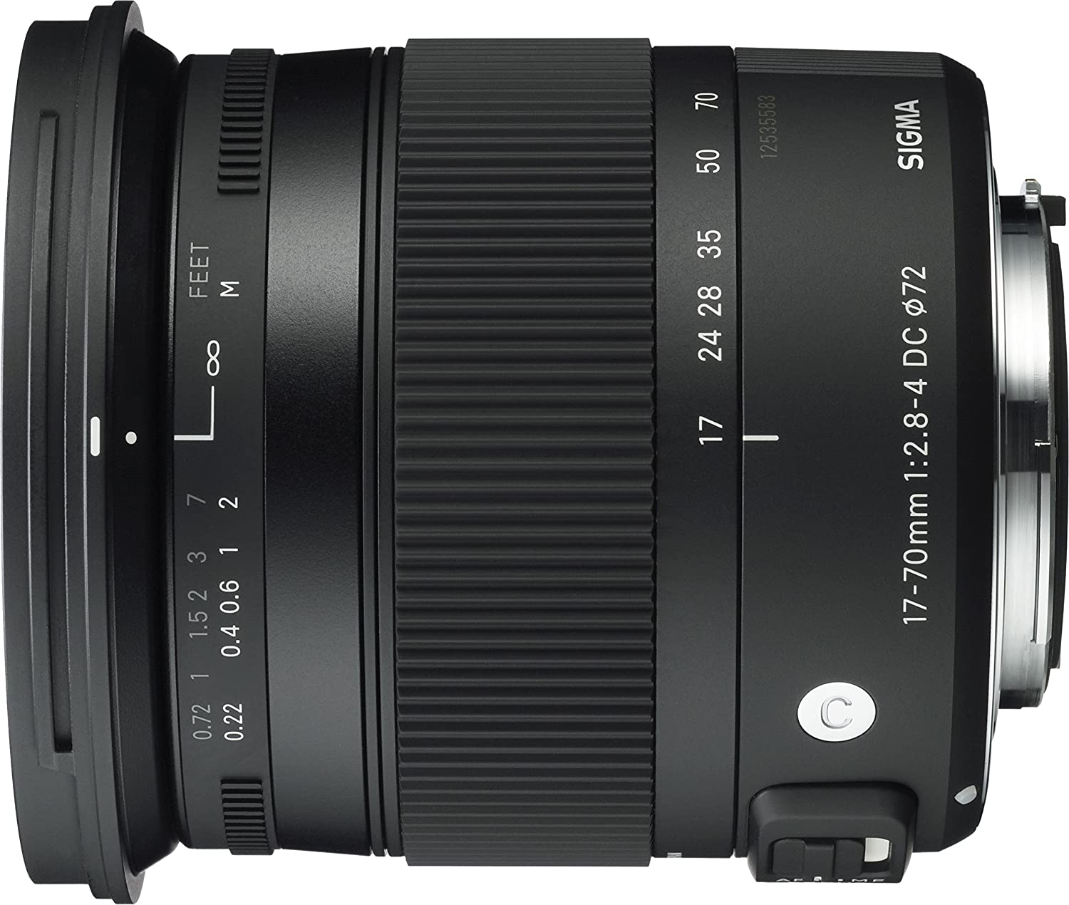Sigma 17-70mm f/2.8-4 DC OS HSM for Canon: Amazon.co.uk: Camera & Photo