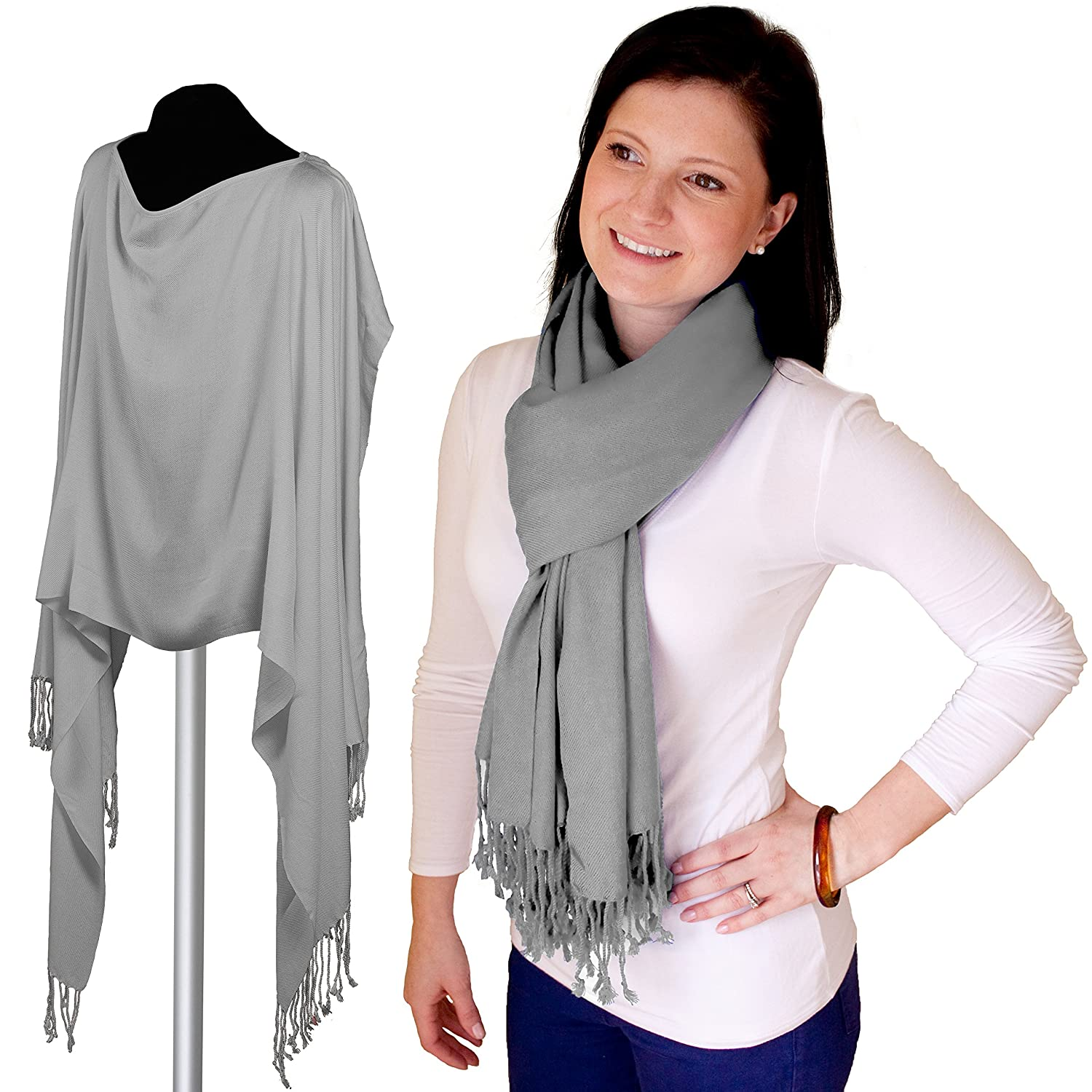 Jolly Jumper Pashmama Nursing Cover, Grey 460-84