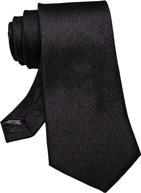 Corbata de lana de color s/ólido y bolsillo cuadrado RBOCOTT