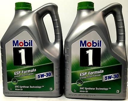 Aceite de motor MOBIL 1 ESP FORMULA 5W-30, 10 Litros (2 x