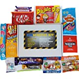EXAM SURVIVAL KIT - Show them your support - Good Luck Gift Idea for GCSE, A level, University Exams, Professional exams etc.*Letter Box Friendly size*Option to add Message on Check out