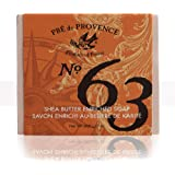 No. 63 Men's 200 Gram Cube Soap, Aromatic, Warm, Spicy Masculine Fragrance, Quad-Milled For Long Lasting Soap & Enriched…