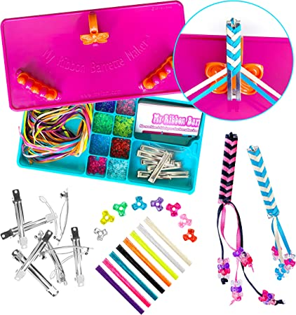 Crorey Creations My Ribbon Barrette Maker Kit Special Edition Crorey Creations Inc MYRBM
