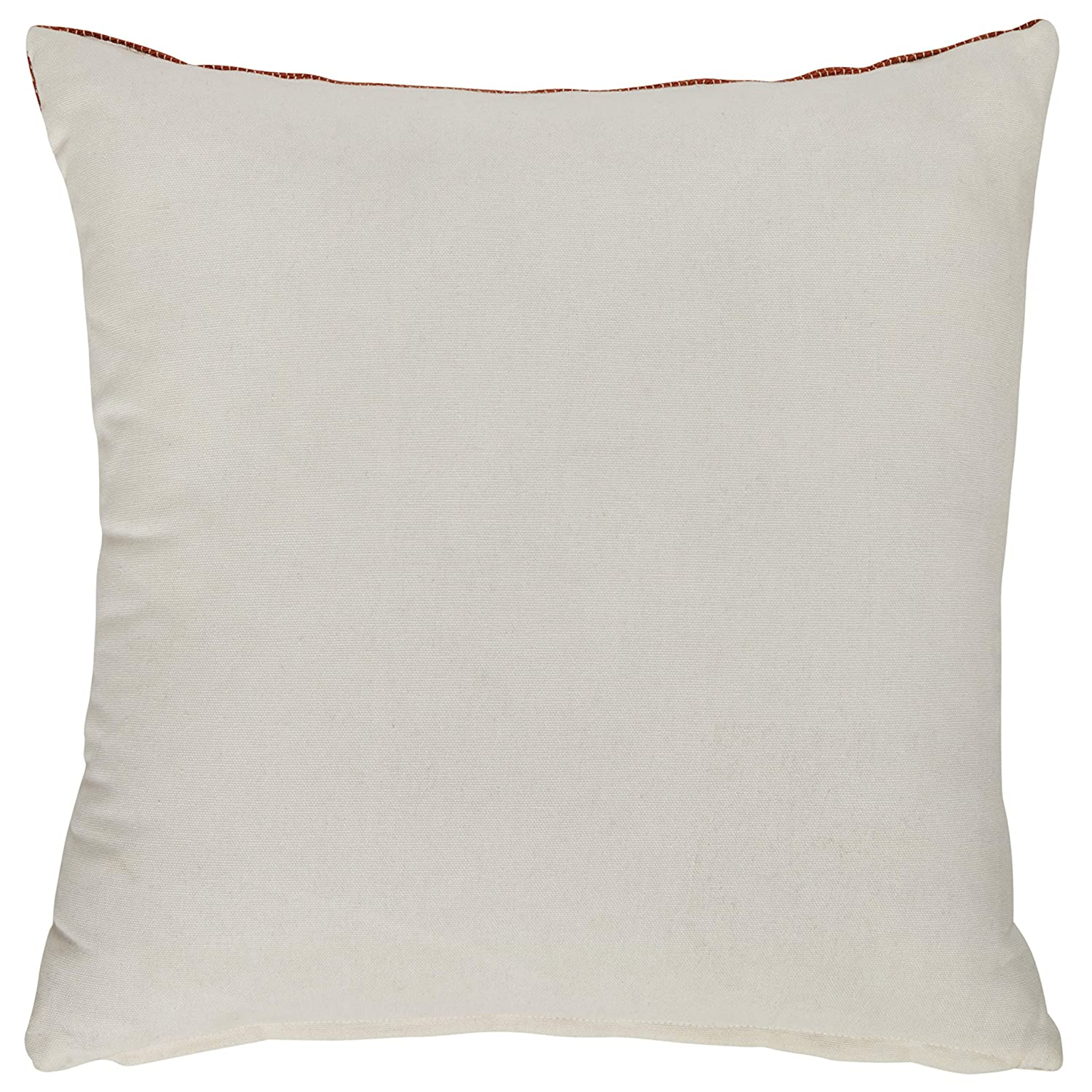 Rivet Casual Ombre Throw Pillow – 17 x 17 Inch, Terracotta