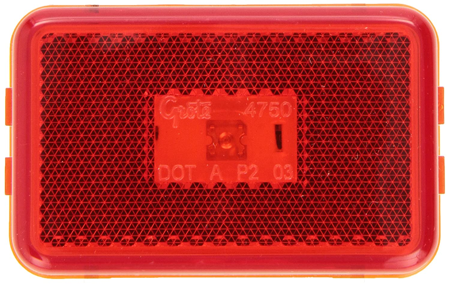 Built-In Reflector Grote 47502 Red SuperNova LED Clearance Marker Light
