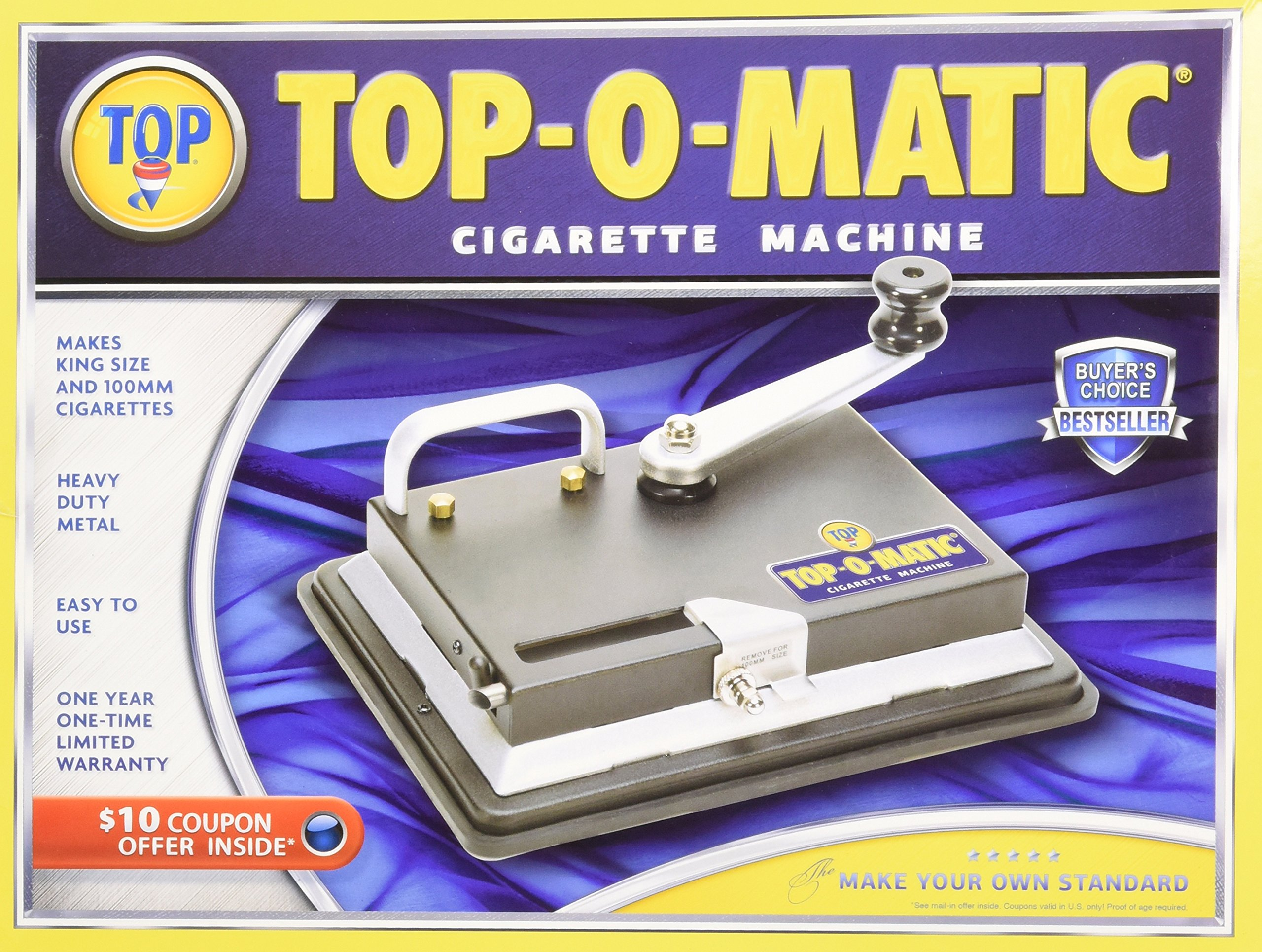New Top O Matic Cigarette Rolling Machine Health Metal Conduit Is Tough Stuff But Its Heavy Hard To Work With And Personal Care
