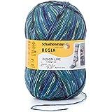 REGIA 4-fädig Design Line by ARNE & CARLOS 9801270-03658 winter night Handstrickgarn, Sockengarn, 100g Knäuel