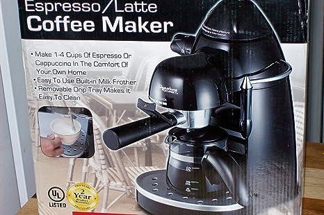 Amazon.com: Signature Gourmet Espresso/Latte Cafetera ...