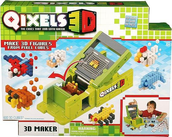 Qixels 87053 - Creador Figuras 3D: Amazon.es: Juguetes y juegos