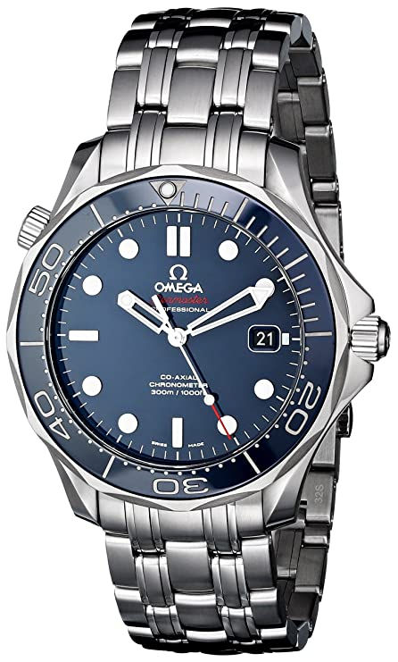 Omega Men's O21230412003001 Seamaster Analog Display Automatic Self-Wind