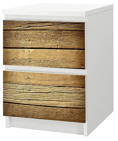 Adhesivo para cómoda de Ikea Malm 40 x 55 cm madera 1: Amazon.es ...