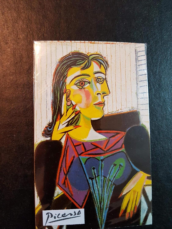 Ediciones BLOK Iman Nevera de Pablo Picasso. 6x9 cms. Dora Maar ...