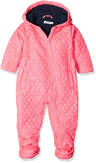 749123bb1 Dirkje Baby Girls 34V-23257MH Long Sleeve Snowsuit - Pink - 9-12 Months:  Amazon.co.uk: Clothing