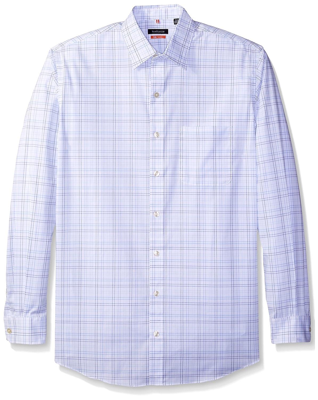 Van Heusen Men's Big and Tall Long-Sleeve Traveler No-Iron Button-Front Shirt 50W5719