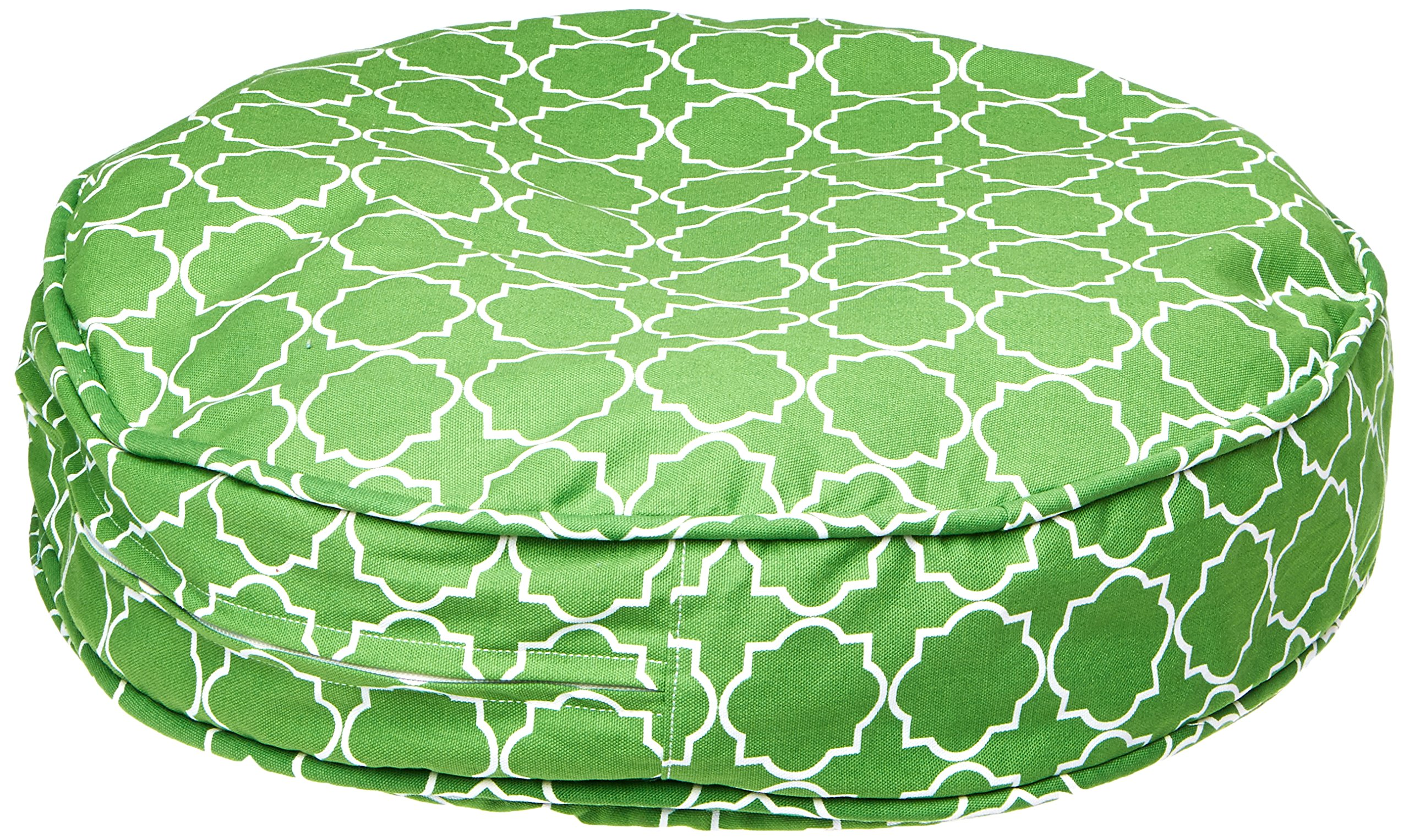 molly mutt Title Track Round Petite Dog Duvet, Small, Green
