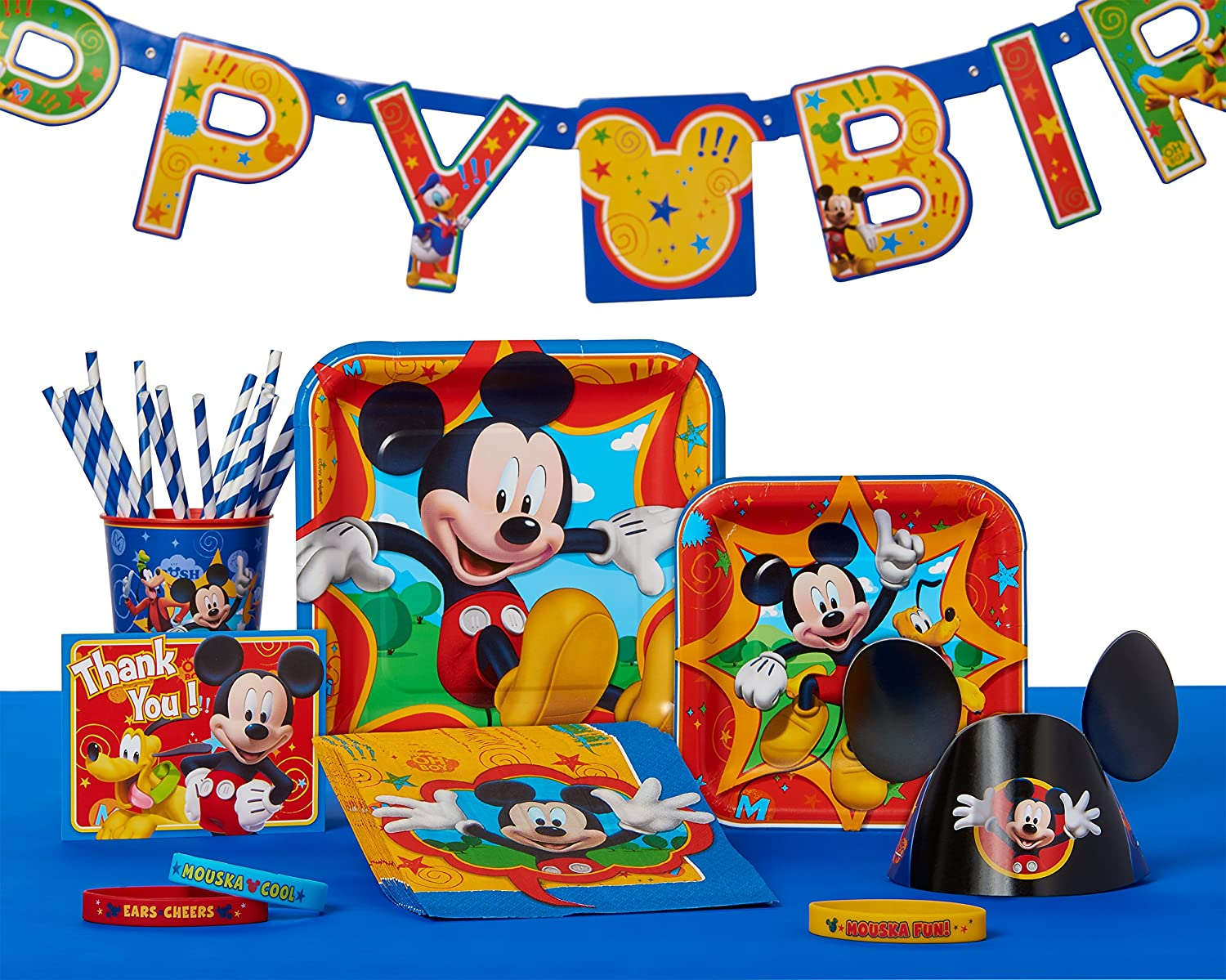 Amazon Mickey Mouse Clubhouse Birthday Party Banner Party