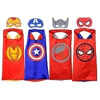 Rubie's Imagine s Unisex Producto Oficial Marvel Universe Super Hero Juego de 4Capas con máscaras Surtido, pequeñas de los niños