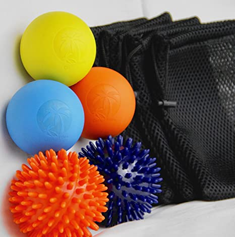 cariib Fitness liberación miofascial bola de Lacrosse pelotas de ...