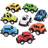 Mini Diecast Pullback Cars Stocking Stuffers in Assorted Fun Colors and Styles.