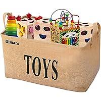 Gimars Contenedor de canasta para juguetes Caja