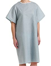 Deluxe Patient Hospital Gown, Easy Care, Soft & Comfortable Gowns - 3pk