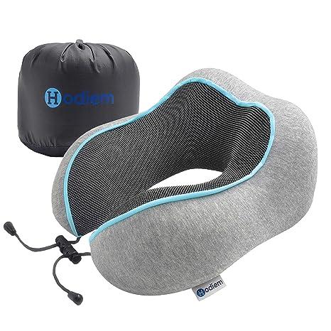 Cuscino Da Viaggio Memory.Hodiem Cuscino Da Viaggio Memory Foam Cervicale Poggiatesta Auto Guanciale In Lattice Kit Viaggio Cuscino Ortopedico Aereo Ufficio Travel Pillow