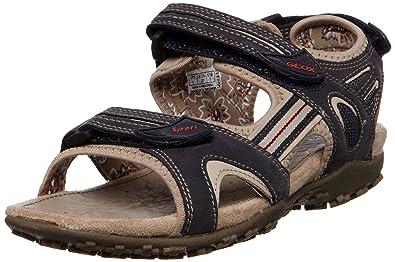 8c88ea4957ce90 Geox Women's D Sandal Strel C Navy Ankle Strap D1125C5415C4002 2.5 UK, ...
