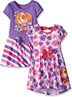 Paw Patrol Girls' 2 Pack Dresses