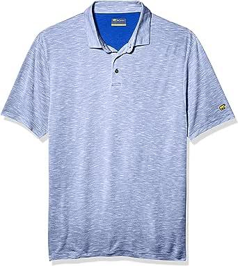 Jack Nicklaus Men's Slub Short Sleeve Golf Polo Shirt