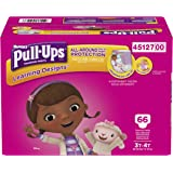 Pull-Ups Learning Designs Training Pants for Girls, 3T-4T, 66 Count (Packaging may vary from image shown)