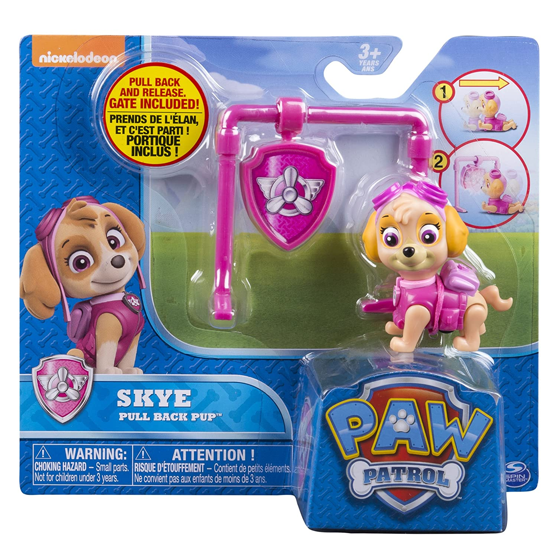 Paw Patrol - Pull Back Pup - Skye