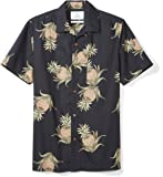 28 Palms Men's Standard-Fit 100% Cotton Hawaiian Shirt