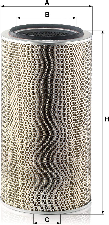Luftfilter Land- und Baumaschinen Original MANN-FILTER C 33 920//3 f/ür Industrie