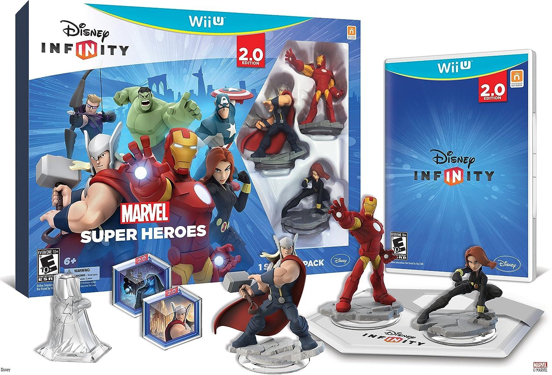 Amazon.com: Disney INFINITY: Marvel Super Heroes (2.0 Edition) Video Game  Starter Pack - Xbox 360: Disney Interactive: Video Games
