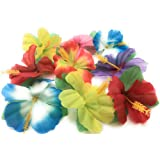 Hibiscus Flowers for Tabletop Decoration ( Pack of 36 )
