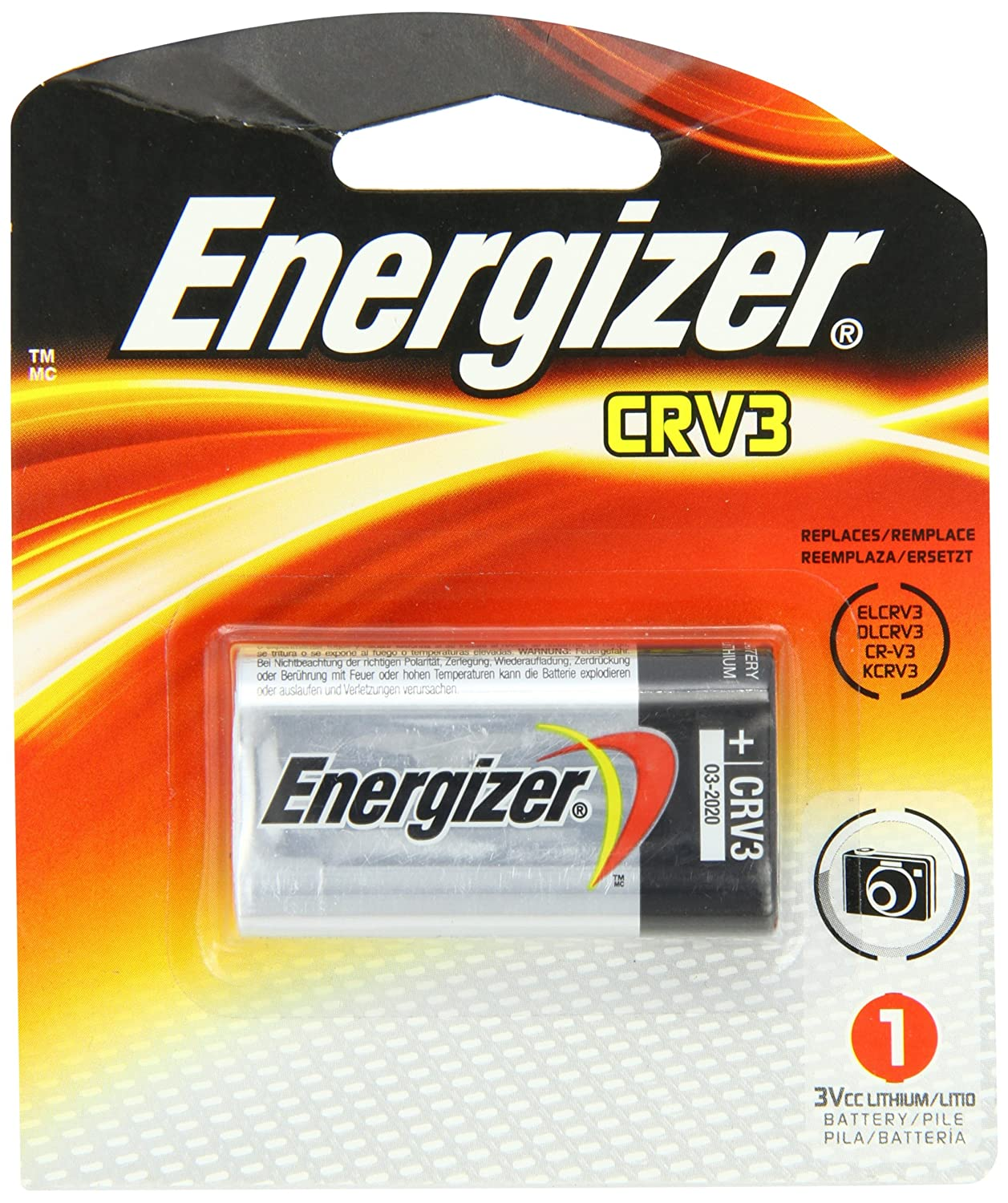 Energizer ELCRV3 Photo Lithium Battery Replacement
