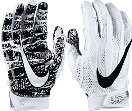 66756b737b2 Amazon.com   Nike Adult Superbad 4.0 2017 Receiver Gloves (White ...