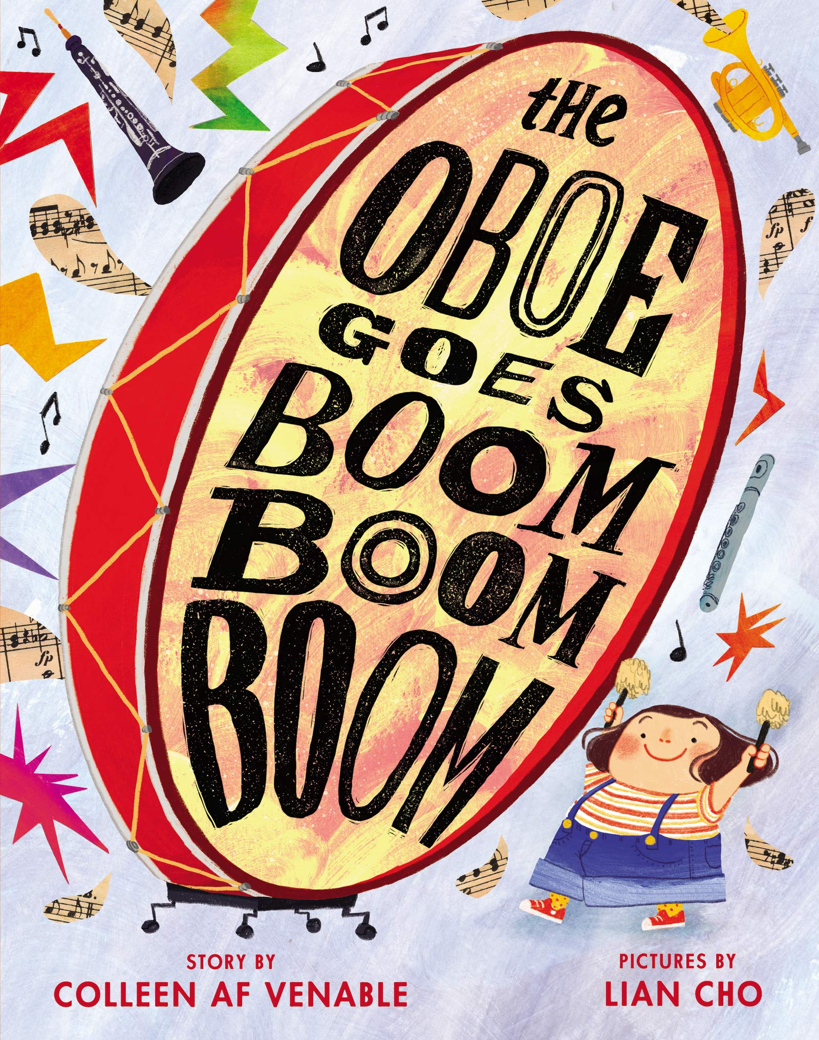 The Oboe Goes Boom Boom Boom: Venable, Colleen AF, Cho, Lian:  9780062494375: Amazon.com: Books
