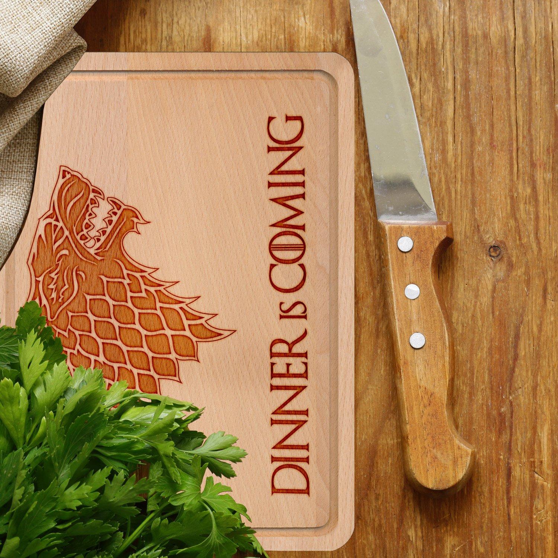 nerdo – Varios Madera/tablas de cortar./Cocina Tablas/Queso Tablas con diferentes motivos de haya Alemana (Certificado FSC) como regalo Idea con ...